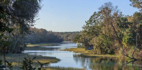 Natural Spring Fed River Florida