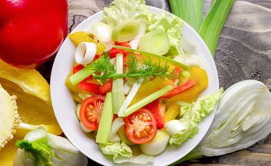 Healthy food - healthy meal - fototapety na wymiar