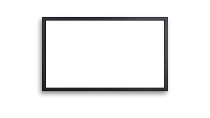 blank of led display with white screen