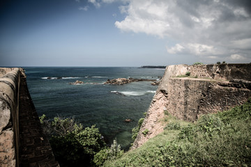 Ocean view from Fort Galle