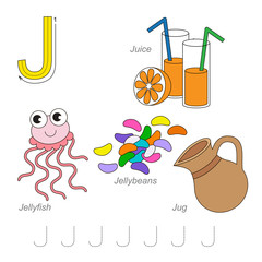 Pictures for letter J