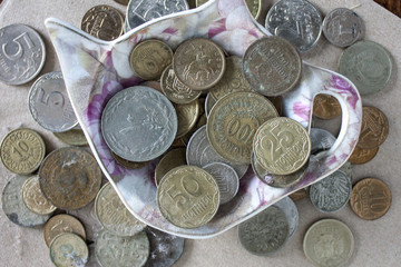 a lot of money coins in bulk