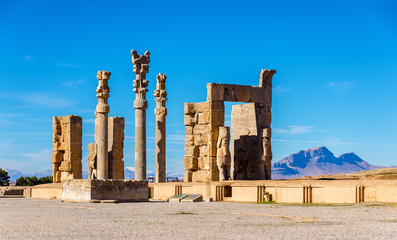 The Gate of All Nations in Persepolis, Iran