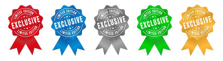 Vector Exclusive Limited Edition Badge Ribbon