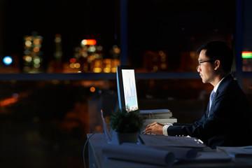 Working in darkness