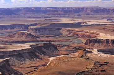 Dramatic River Canyon in the American West