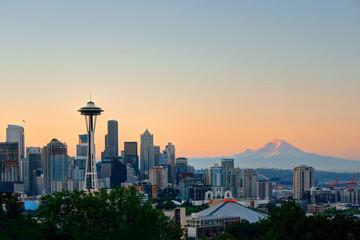 Wall Mural - Seattle city skyline
