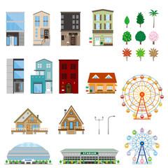 様々な建物