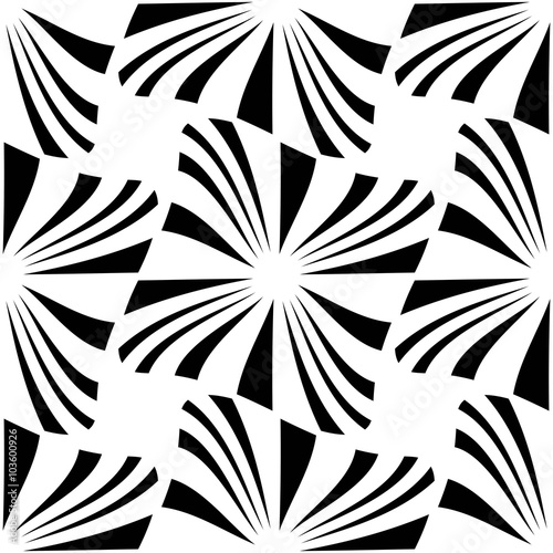 pillow texture seamless. Vector Modern Seamless Geometry Pattern, Black And White Abstract Geometric Background, Pillow Print, Texture