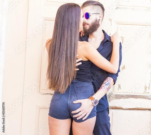 Sexy Ass Grabbing - Beautiful Latin Ass