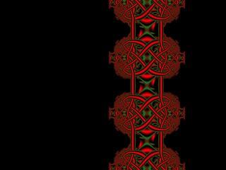 celtic knot background.