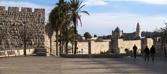 Jerusalem walls