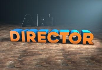 Art Director, 3D Typography