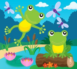 Frog thematic image 1