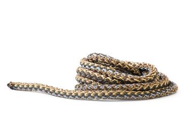 ropes on white background