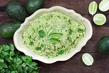 Avocado Lime Cilantro Rice