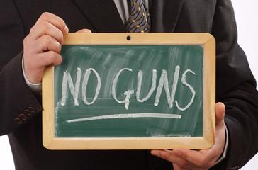No guns concept