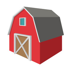 Shed cartoon icon