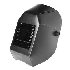 Black welding mask isolated on white