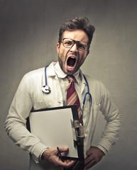 Furious doctor