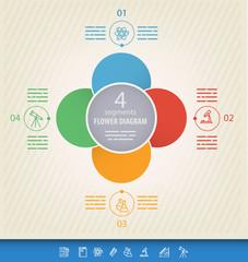 circular presentation template