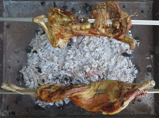 Grilled lambs