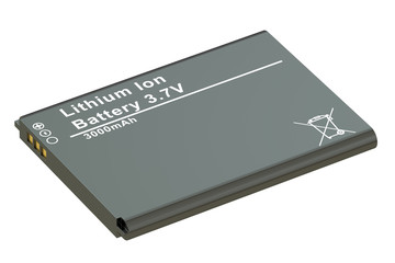 Battery or accumulator for phone