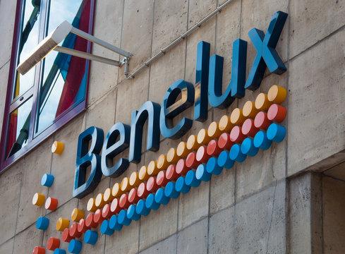 Benelux signboard