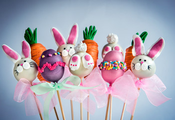 Sweet Easter cake pops