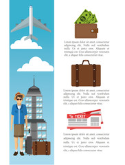 Travel and infographic design