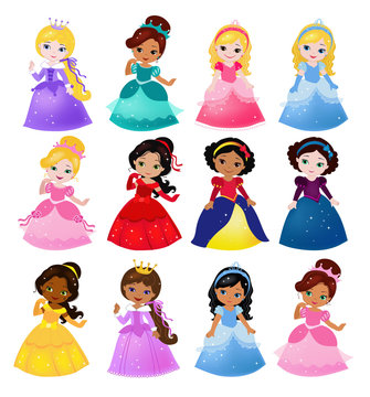 Big Bundle cute collection of beautiful princesses
