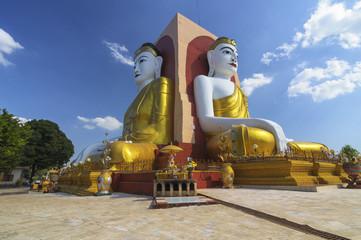 Kyaik Pun Pagoda, Bago, Myanmar.