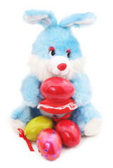 Toy Easter Bunny.