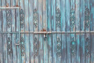 Rusty Blue Gateway