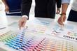 Choosing color palette