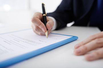 Filling business contract
