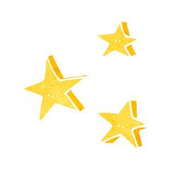 retro cartoon decorative doodle stars