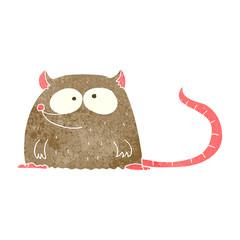 retro cartoon mouse