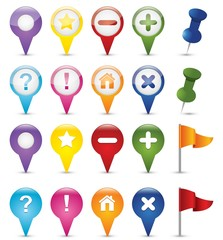 Gps Icon Collection
