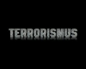 Terrorismus 3d wort
