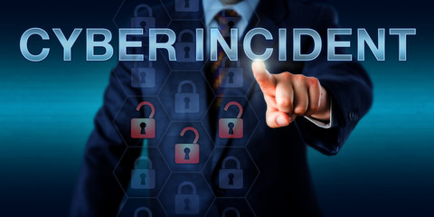 Administrator Touching CYBER INCIDENT