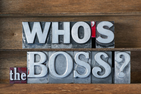 who is the boss