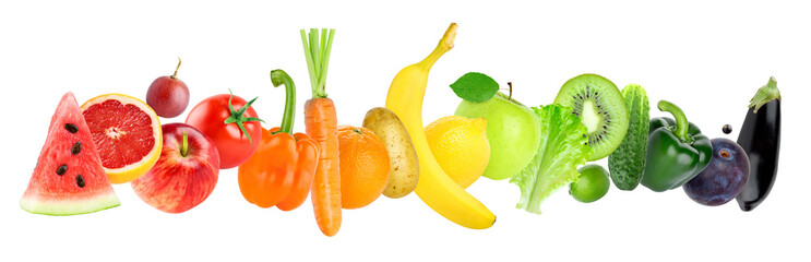 Fruits and vegetables Wall mural