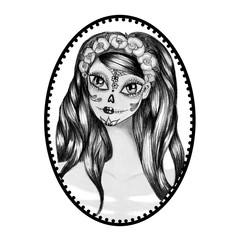 Day of dead girl