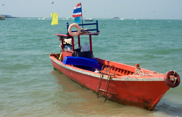 fishing longtail boat Thailand