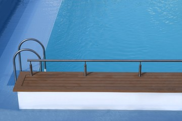 Swimmingpool, Schwimmbecken