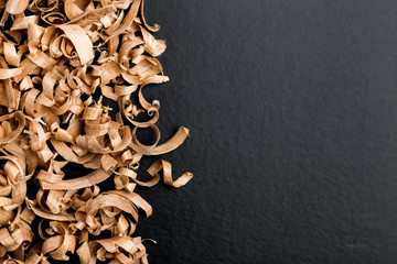 Obraz Wood shavings - fototapety do salonu