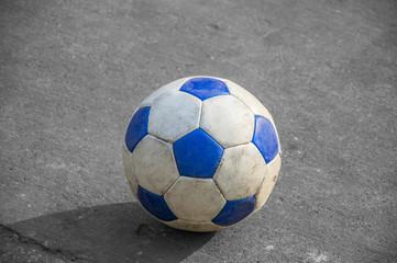 Football on the floor