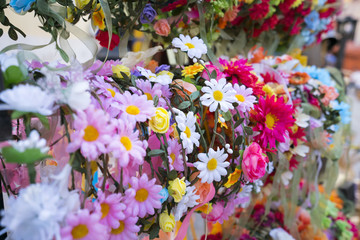 wreaths of flowers