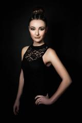 Glamour make-up (Sandra)